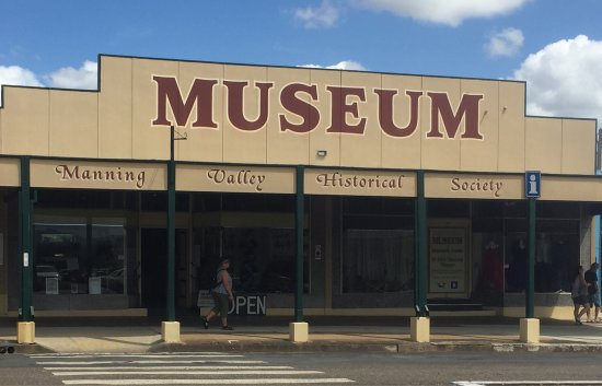 Wingham, Australia: The first photo is outside the museum and the other shots were taken inside.