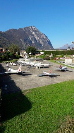 Melide, Svizzera: Il parco