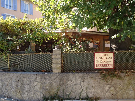Annot, Frankrijk: la terrasse