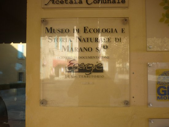 Marano sul Panaro, อิตาลี: targa dei musei