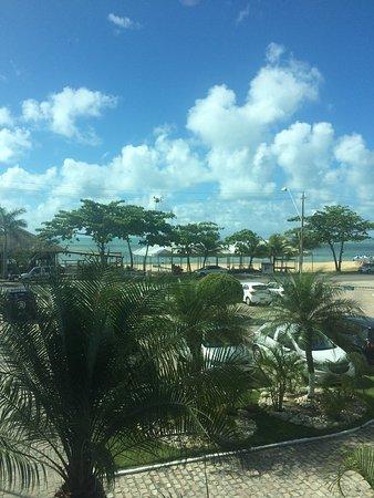 Sued's Plaza Hotel : Vista do apto 217 de frente para praia