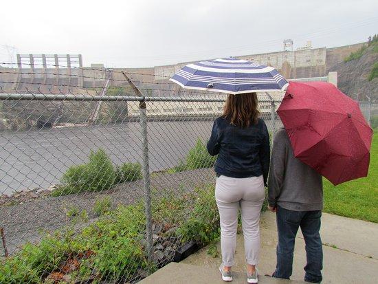 Baie Comeau, Kanada: même un jour de pluie, c'est impressionnant