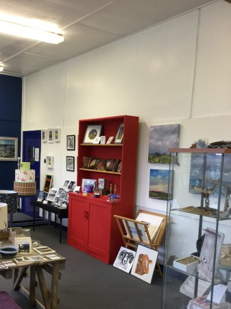 Newton Stewart, UK: Internal view of gallery.