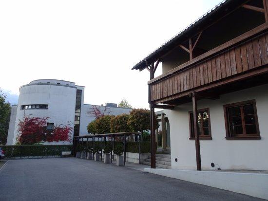 Triesen, Liechtenstein: A picture of the Annex and the Main hotel.