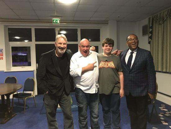 Bishops Stortford, UK: first Half Moon Magicians show in New venue