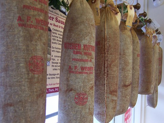 Elmira, Canada: We mail our summer sausage across Canada!