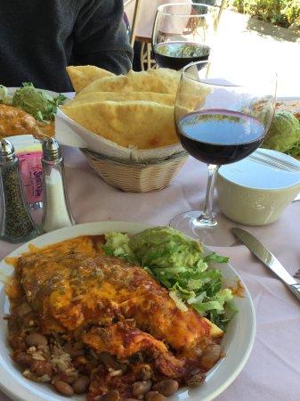 Rancho de Chimayo Restaurante: Stuffed Sopapillas with Shredded Beef