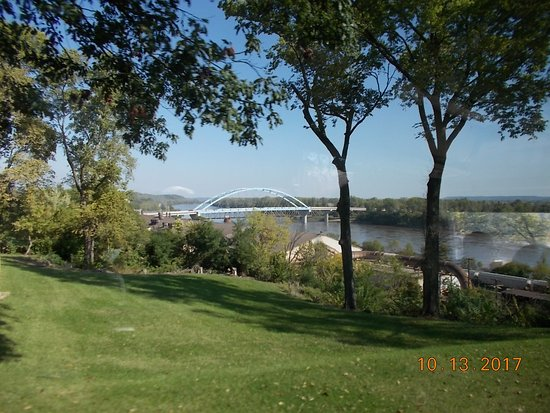 Atchison, KS: Bridge from the bluff