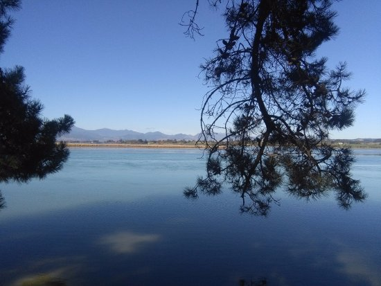 Nelson, New Zealand: Local Maori history is outlined near the Waimea estuary.