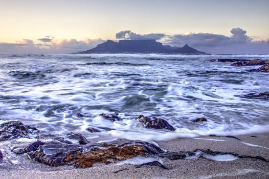 Bloubergstrand Beach: View from Bloubergstrand
