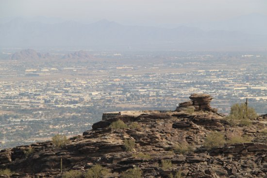 South Mountain Park: Another View of Phoenix