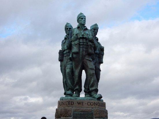 Spean Bridge, UK: Commando Memorail