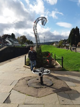 Fort Augustus, UK: Nessie