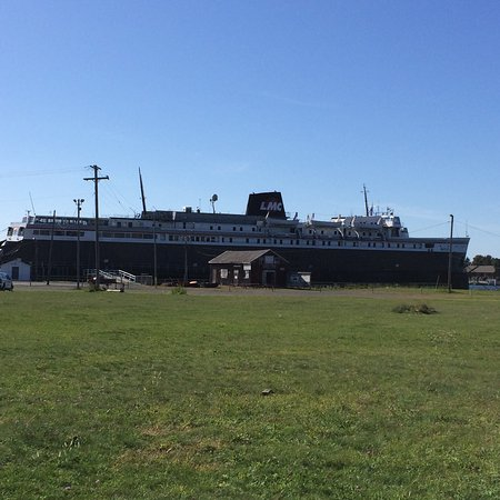 Ludington Waterfront Park: The Badger, I traveled ferry as a child with my family.