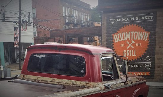 Bentleyville, PA: Vintage Boomtown- featuring our rat rod truck