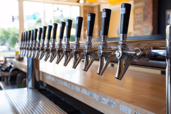 Hyattsville, MD: 16 taps of constantly rotating drafts of craft beer