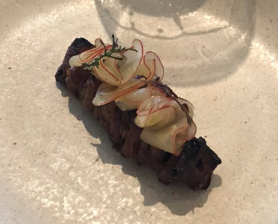 Adelaide Hills, Australien: smoked ox tongue