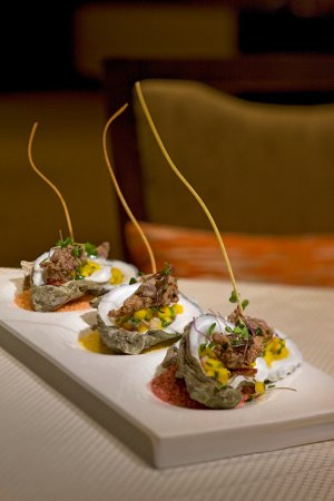 Morristown, NJ: Oyster Appetizer