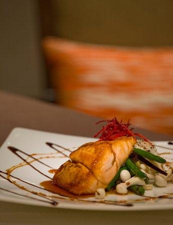 Morristown, NJ: Salmon dinner