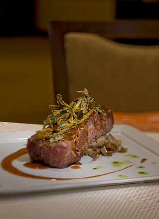 Morristown, NJ: Steak & Mushroom dinner