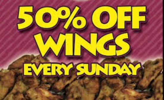Midlothian, VA: You'll Love our WIngs even more at 50% off!