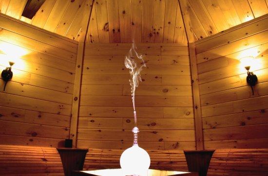 Mandeville, Kanada: salle d'aromathérapie