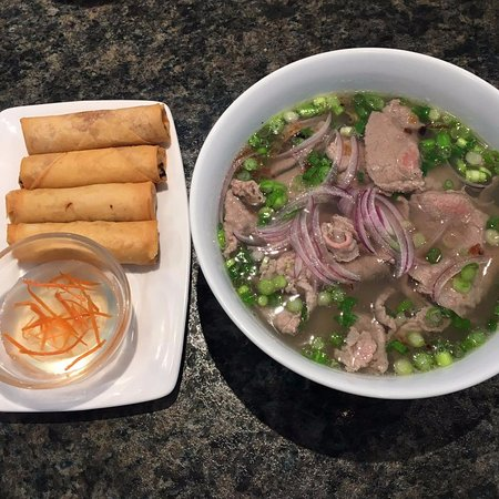 Stony Plain, Canada: 5. Imperial Spring Rolls / 14. Special Noodle Soup