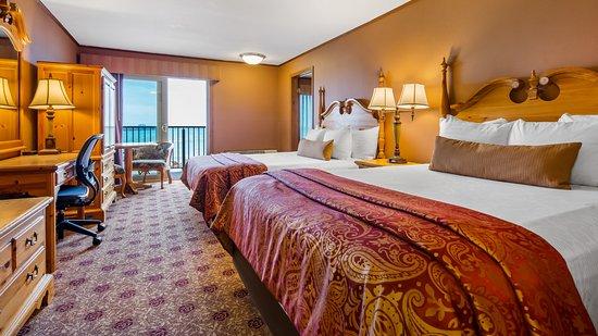 Balcony - Picture of Best Western Plus Dockside Waterfront Inn, Mackinaw City - Tripadvisor