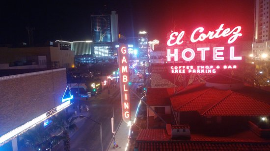El Cortez Hotel & Casino: View from balcony