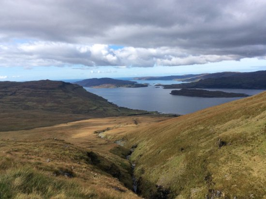 Ben More: The view from 1/3 way up
