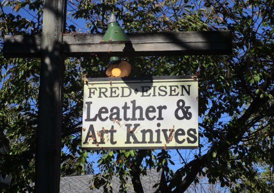 Fred Eisen Leather and Art Knives