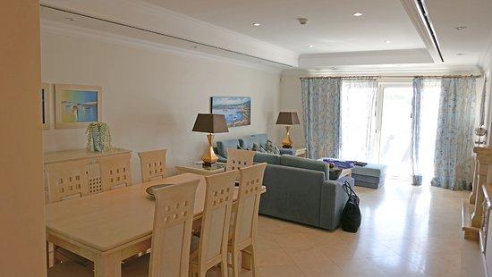 Dunas Douradas Beach Club: Living room dining room