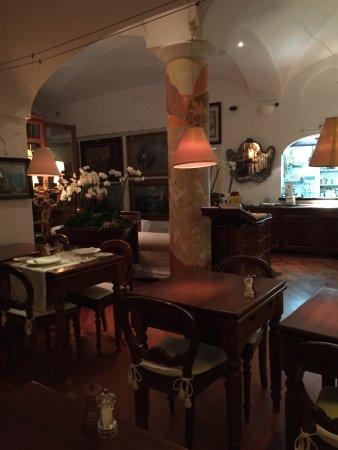 Ristorante Max: The dining room