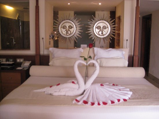 Excellence Playa Mujeres: Anniversary Swan greeting