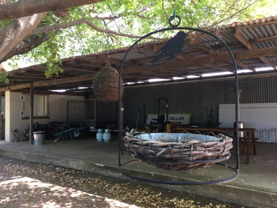 Bilpin, Australia: Hanging bird homes