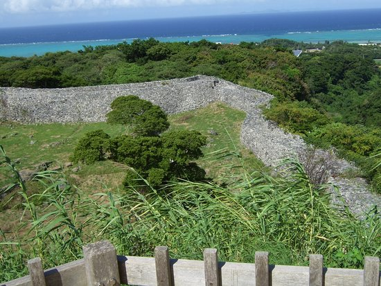 城壁の石組み - Picture of Nakijin Castle Remains, Nakijin-son - TripAdvisor