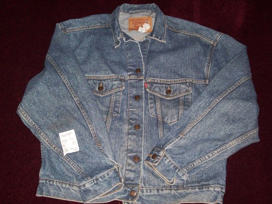 Woodland Park, CO: Levi jacket purchased from The Cowhand Western Wear Store.