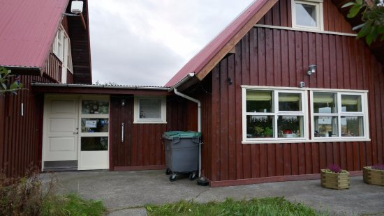 Borgarnes, Iceland: Front of Gusthouse