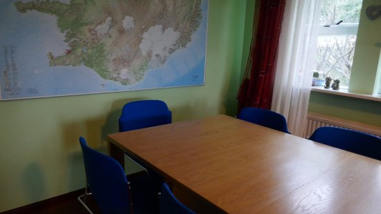 Borgarnes, Islandia: Dining room