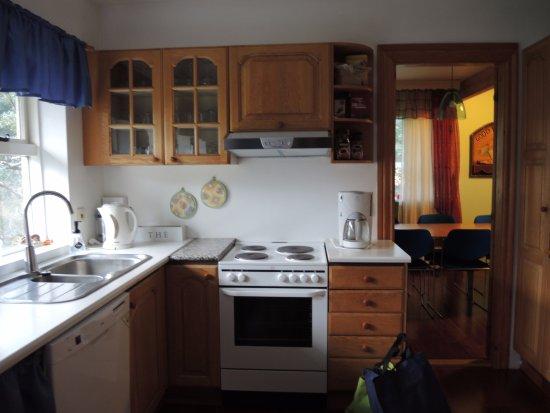 Borgarnes, Iceland: Kitchen