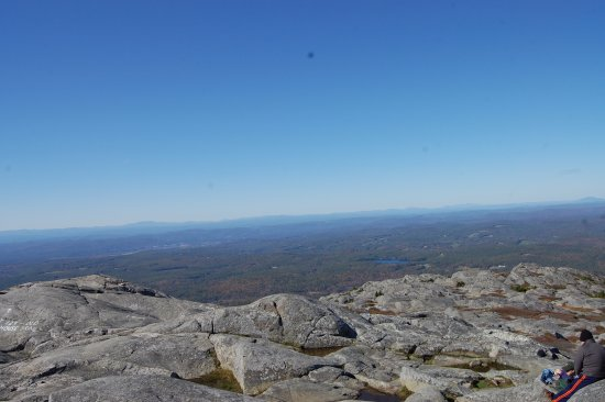 Jaffrey, NH: View from the summit of Mount Monadnock