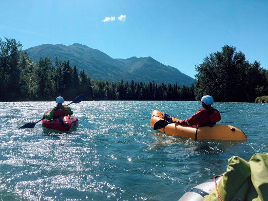 Seward, AK: Packrafting Instruction - Learn to packraft in Alaska!