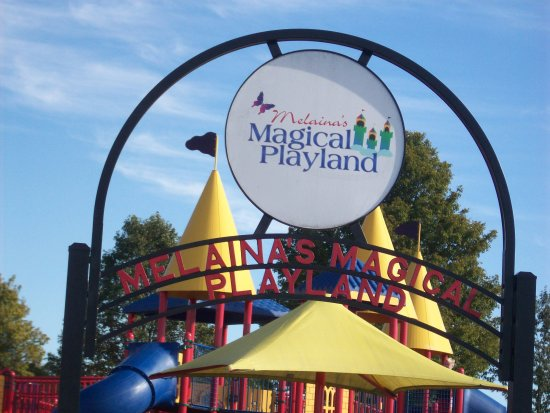 Cape Girardeau, MO: Entrance to Melaina's Magical Playland.
