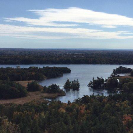 1000 Islands Tower : Vue du St Laurent