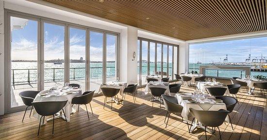 Hilton Auckland: FISH Restaurant Terrace