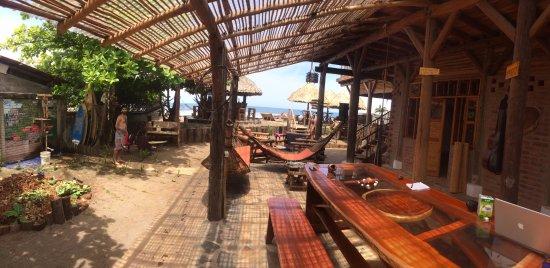 Las Penitas, Nikaragua: View from inside MaM