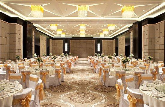 Chun'an County, China: Hangzhou Grand Ballroom- Wedding set up