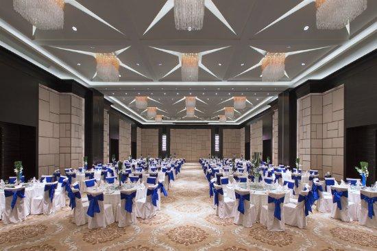 Chun'an County, China: Hangzhou Ballroom - wedding setting up