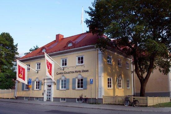 Umeå, Sverige: Hotel entrance