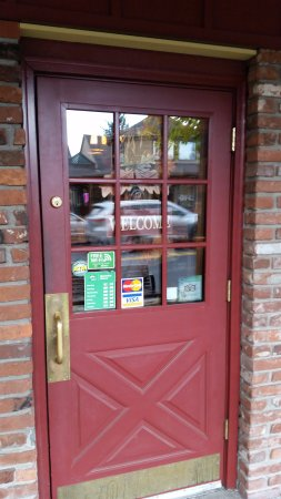 Sisters, Орегон: Welcome door